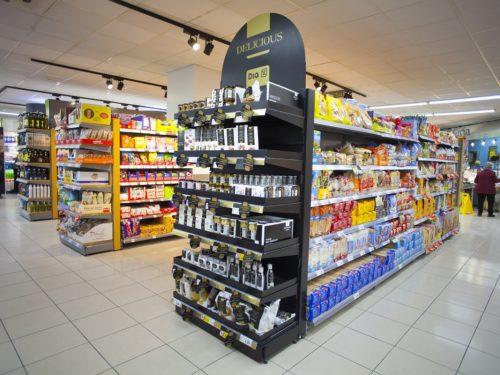 Grupo DIA aumenta sus ventas brutas bajo enseña en los nueve primeros meses del año un 11%, hasta los 7.800 millones de euros