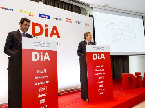Grupo DIA registra unas ventas brutas bajo enseña de 10.550 millones de euros, un 10,2% más que en el ejercicio anterior