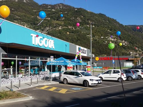 Ha aperto all'interno del nuovo Esine Retail Park (Brescia) un pdv Tigotà