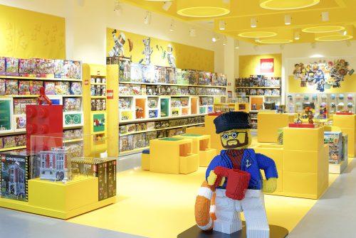 Un nuovo store nel centro di Roma, consolida la partnership Lego-Percassi