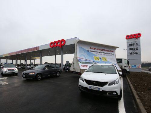 Coop Alleanza 3.0 apre a Carpi (Modena) una nuova stazione carburanti