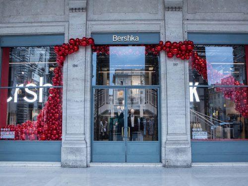 Inditex inaugura a Roma il pop-up store più grande al mondo del suo marchio Bershka