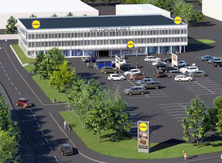 Lidl Svezia torna a Huskvarna, con un nuovo supermercato
