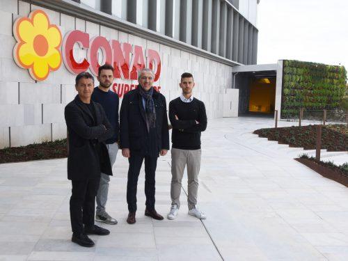 """A Rimini (Zona Fiera) apre il Centro Conad """"Il Lago"""" con un superstore, bar ristorante e parafarmacia"""