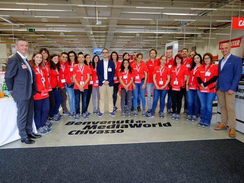 MediaWorld inaugura a Chivasso un punto vendita innovativo in logica omnicanale e customer-centrica