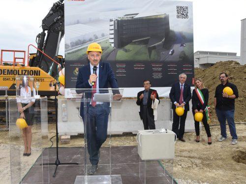 """""""Prima pietra"""" per la nuova sede di CIA-CONAD a Forlì"""
