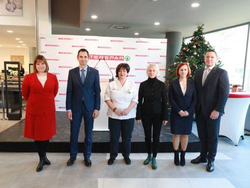 Un rinnovato Interspar a Miskolc in Ungheria