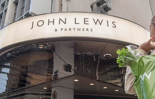 JOHN LEWIS SHOPS TO CLOSE TEMPORARILY