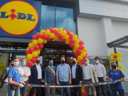 Aperto a Piove di Sacco (PD) un nuovo supermercato LIDL