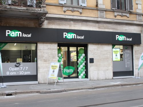 PAM Local si rafforza su Milano, con una nuova apertura