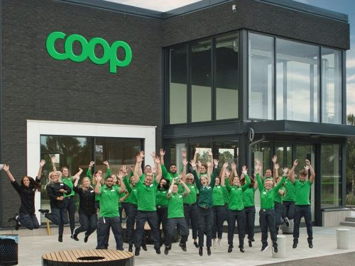 Coop apre un negozio nel centro di Kävlinge, nella Svezia meridionale