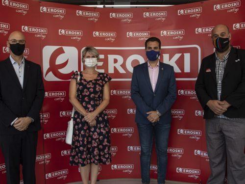 EROSKI continua la sua espansione con un nuovo supermercato a Zizur Mayor (Navarra)