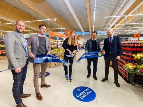 LIDL ha aperto il suo 199° punto di vendita nella parte più settentrionale della Svezia