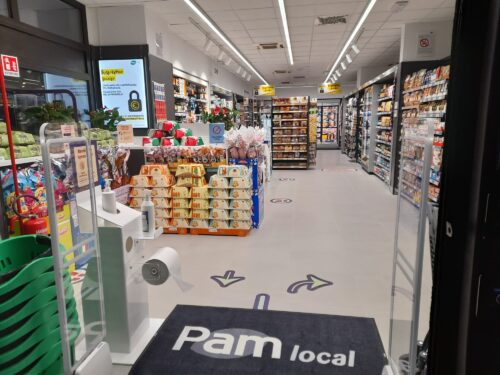 """La """"cinquina"""" di PAM valorizza lo sviluppo di nuovi punti di vendita del brand"""