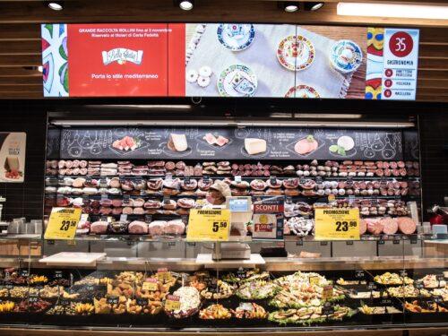 Inaugurato a Fiumicino (Roma) un ipermercato EMISFERO al posto di Auchan